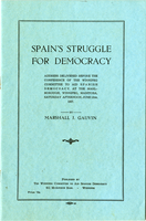 Spain's Struggle for Democracy