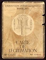 Exposition Internationale Paris 1937
