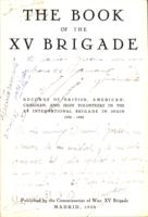 The Book of the XV Brigade