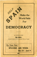 Help Spain Make the World Safe For Democracy