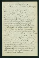 Prisoner of War Letters