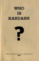 Who is Kardash?