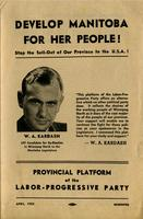 Develop Manitoba For Her People!