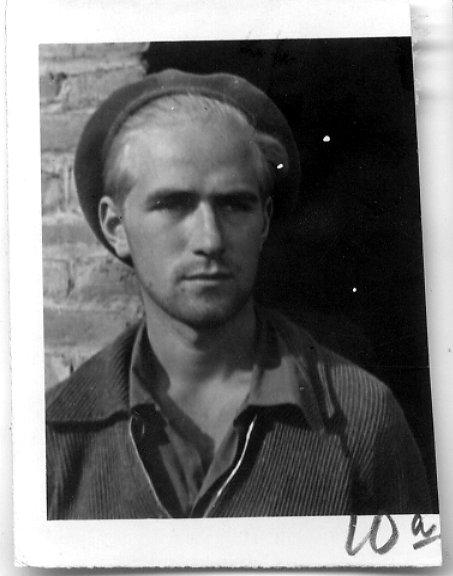 Claude Nash wearing a beret
