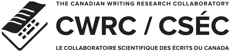 The canadian writing research collaboratory
